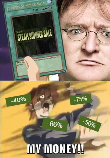 The power of the sale - meme