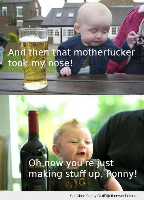 shut up Ronny! - meme