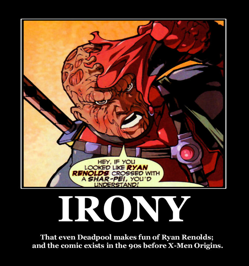 Deadpool Comic Psychic?  - meme