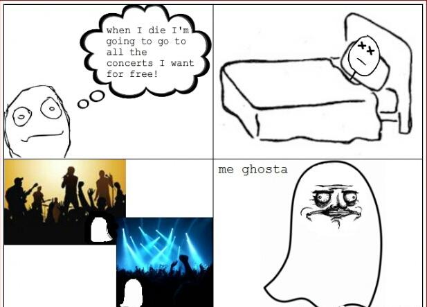 Me ghosta - meme