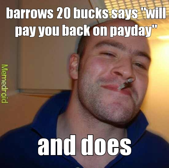 paid back - meme