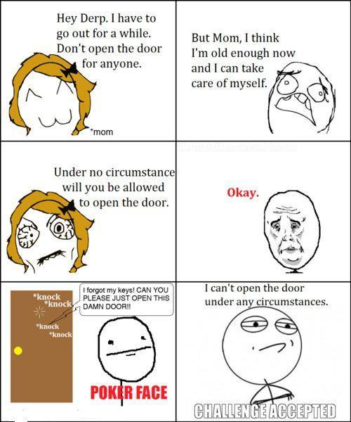 under no circumstances - meme