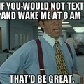 I hate this!!!! Then again I like to sleep until noon :/