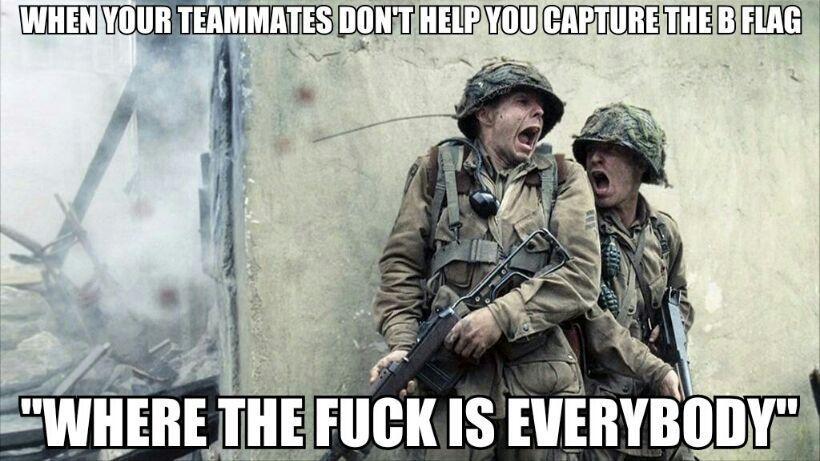 Cod problems - meme