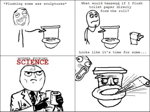 motha focking science - meme