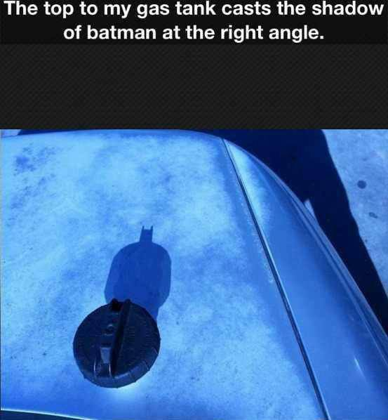 i am gasman! batman... - meme