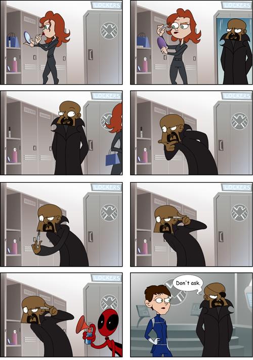 Fucking deadpool  - meme