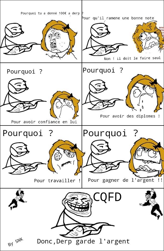 CQFD - meme