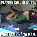 mom! fuck off