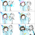 The day showering together stopped being romantic