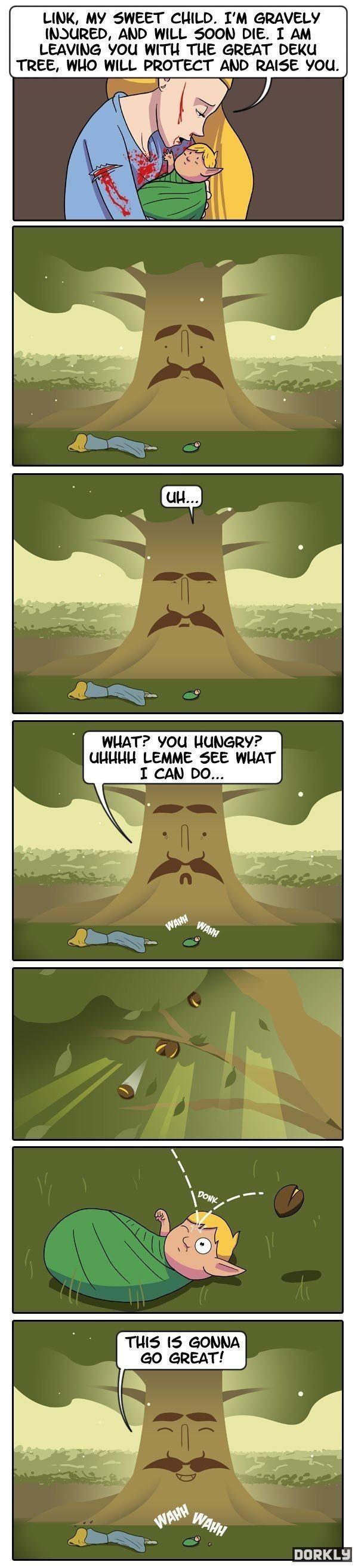 Deku Tree - meme