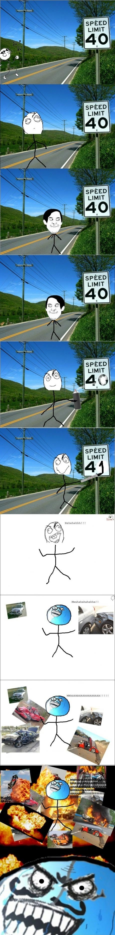 This is rad-racer - meme