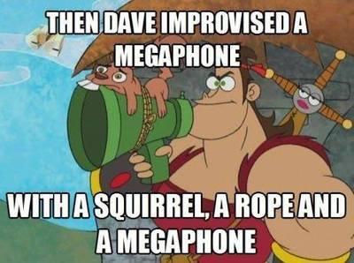 Dave The Barbarian! - meme
