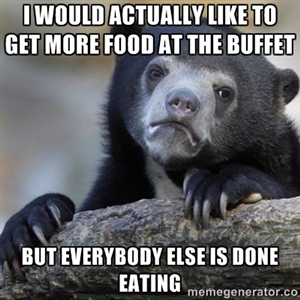 happened today... don't wanna look like a fatty - meme