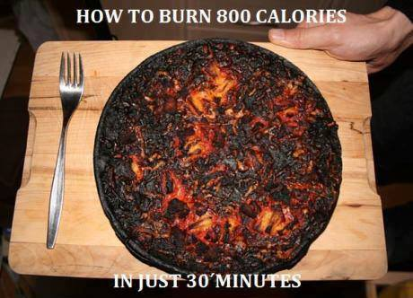 Great way to burn calories - meme