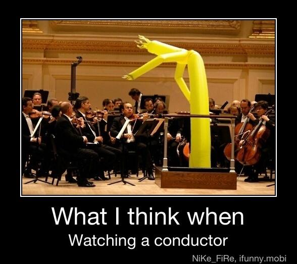 my conductor wen i was en school did this once - meme