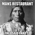 annoyed native American