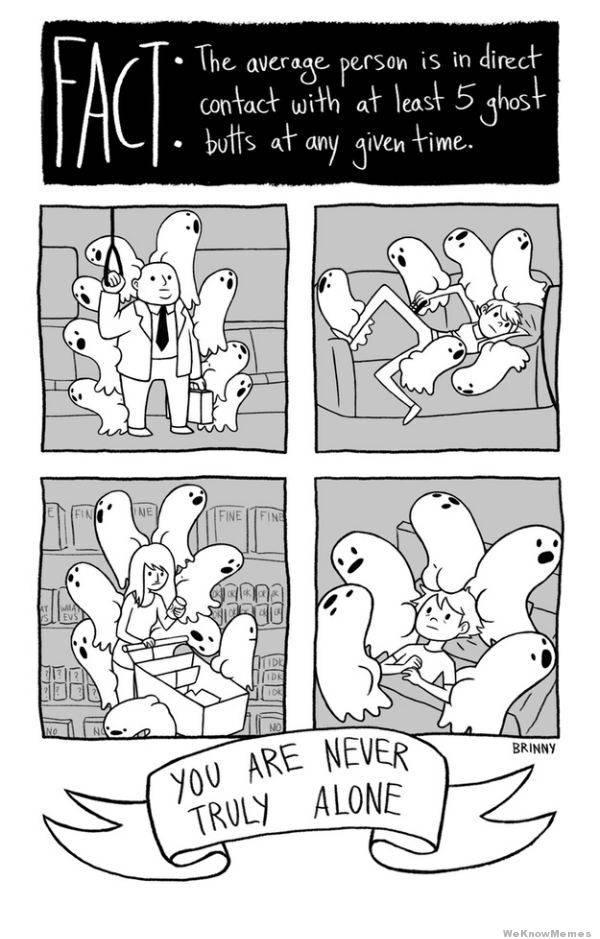 ghost butts - meme