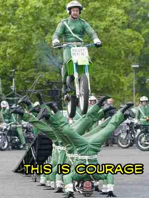 courage - meme