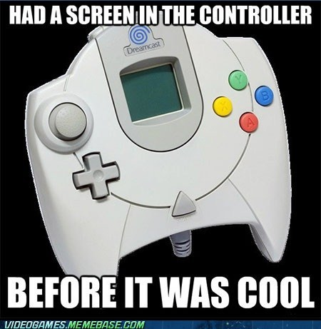 I miss the old consoles! - meme