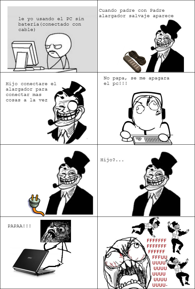 Papa troll xDDD - meme