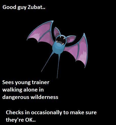 Good guy zubat - meme