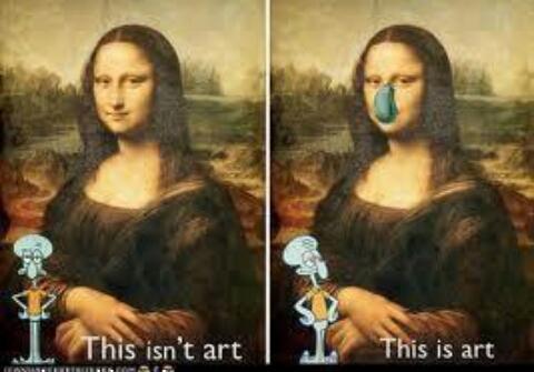 Squid art - meme