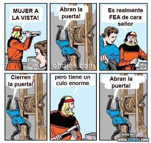 Abran la puerta - meme