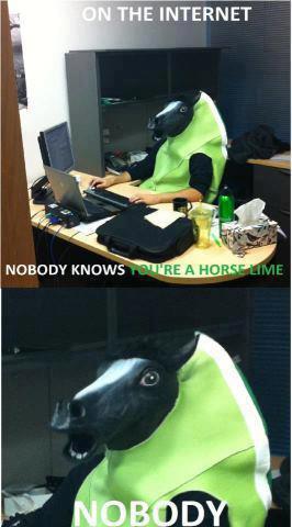 godamn horse limes trick me everytime!!! - meme