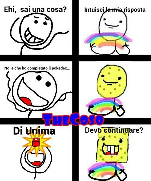 51a62afa7cf19 le spongebob rainbow meme by thecoso ) memedroid