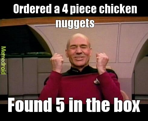 McLovin wants your Mcnuggets! - meme
