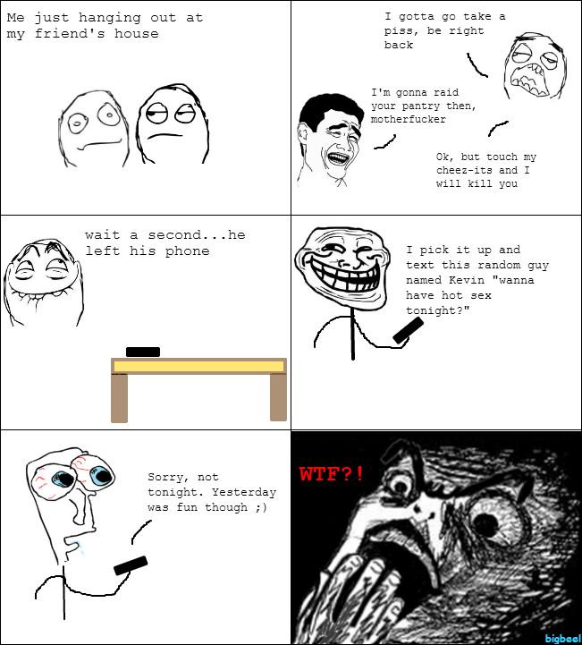An original rage comic for you guys :) - meme