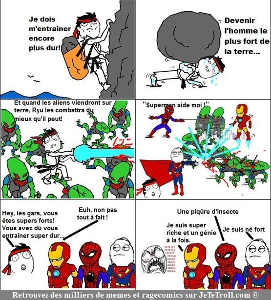 Super heros - meme