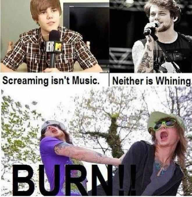 kill all the beliebers! - meme