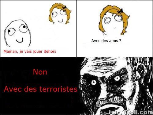 terroristes - meme