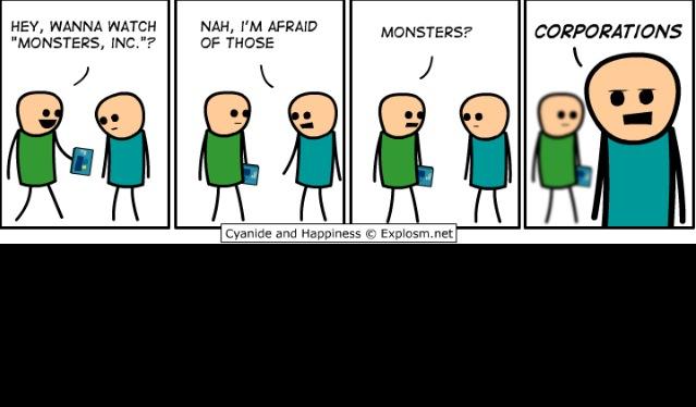 Monsters - meme