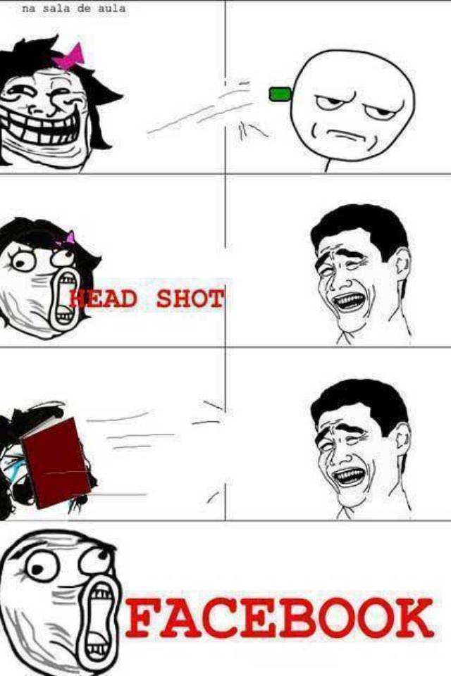 Facebook shot - meme