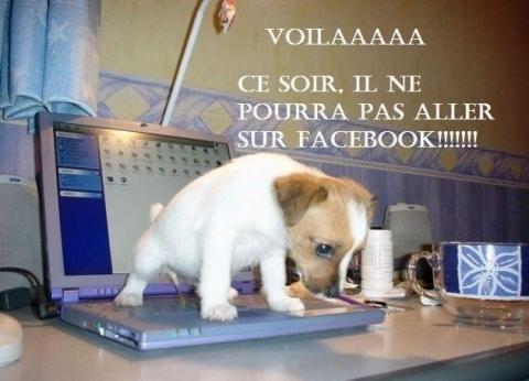 privé de facebook - meme