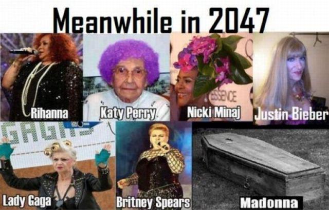 Meanfile in 2047 - meme