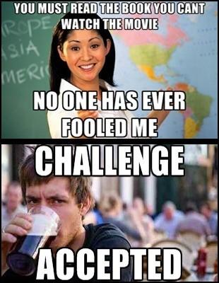 Challenge accomplished! - meme