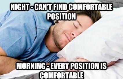 scumbag bed - meme