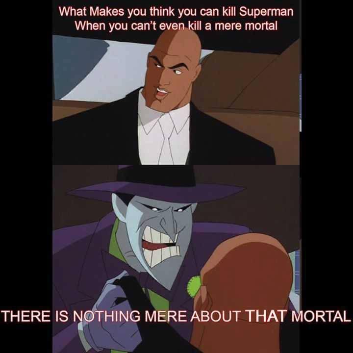Cause he's batman  - meme