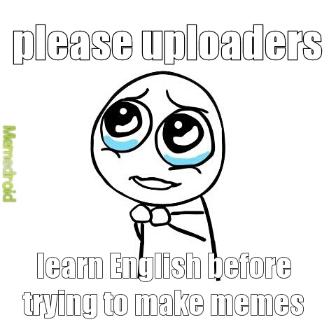it's a problem here - meme
