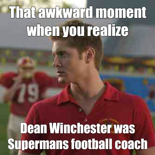 Smallville and Supernatural. My two favorite shows :) - meme