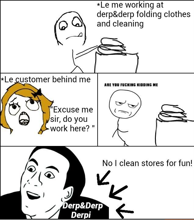 Retail Problems - meme