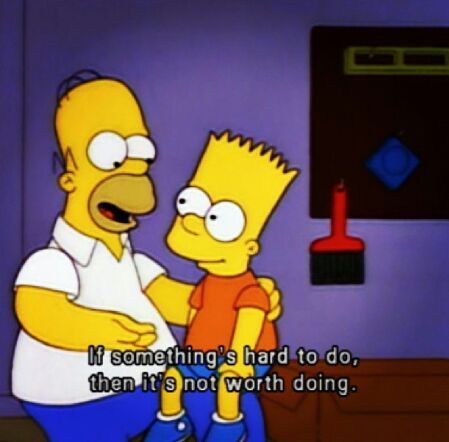 One of the best Advice from Homer - meme