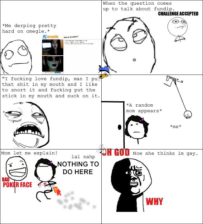 Another original post: God dangit online chatting :C - meme