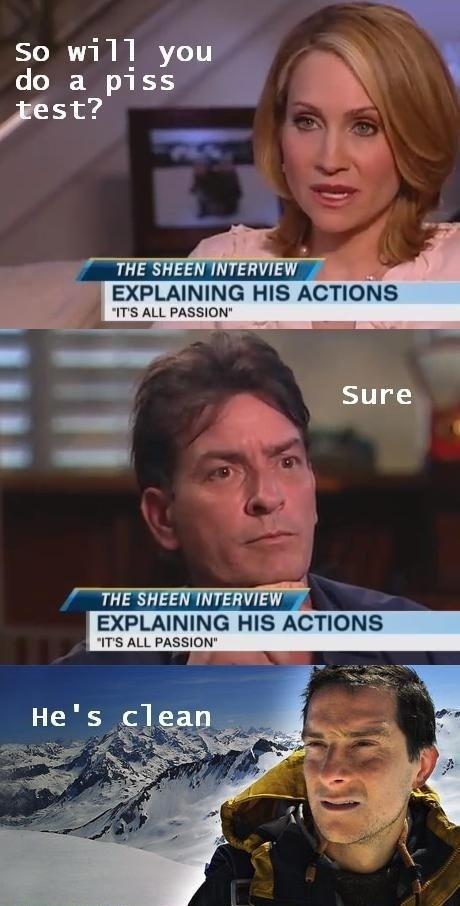 Mr Charlie Sheen - meme