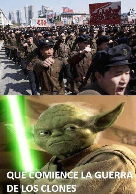 Guerra de clones - meme