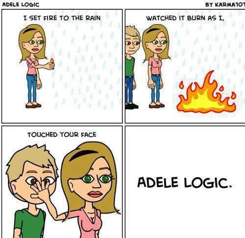 Adele.... - meme